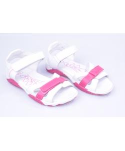 Sandálky biele RENBUT
