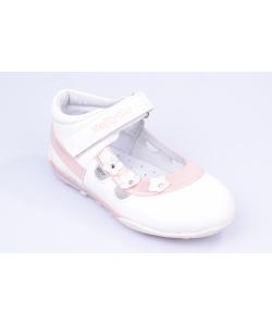 Balerínky bielo-ružové WOJTYLKO