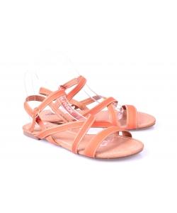 Sandálky orandžové EVENTO
