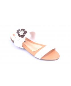 Sandálky biele WOJTYLKO