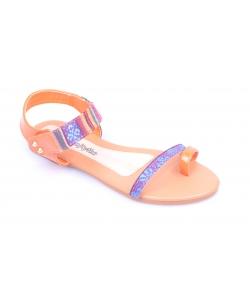 Sandálky oranžové WOJTYLKO