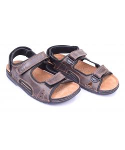 Sandále tmavo hnedé INBLU
