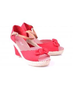 Sandálky červené NOVA