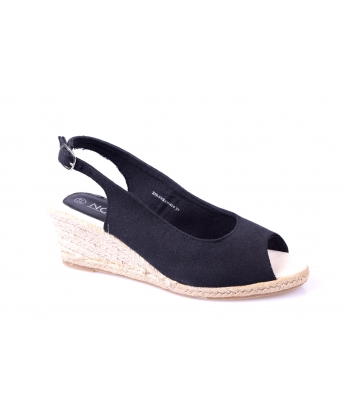 Sandálky čierne NOVA