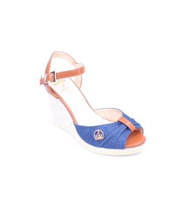 Sandálky modré LA MARIA