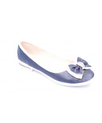 Balerínky modro-biele