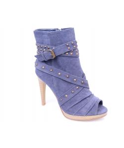 Členkové sandálky modré VICTORIA DELEF