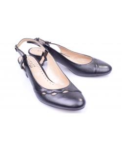 Sandálky čierne LUKASZ