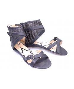 Sandálky čierne CHIX