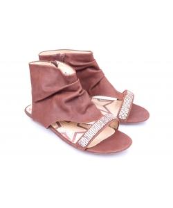 Sandálky hnedé CHIX