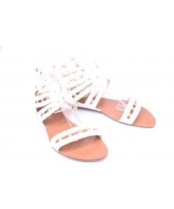 Sandále biele CHIX