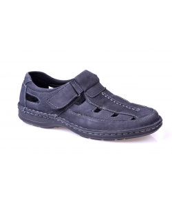 Sandále tmavo modré EVENTO