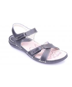 Sandálky čierne WISHOT