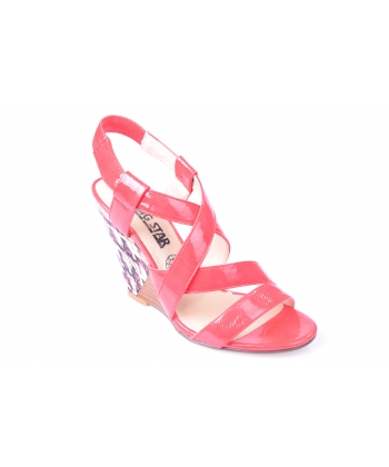 Sandálky červené BIG STAR