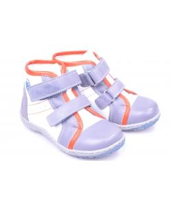 Členkové topánky bielo-modré RENBUT