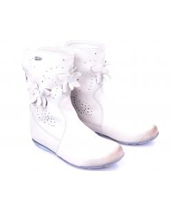 Členkové topánky svetlošedé RENBUT