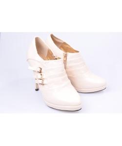 Členkové topánky beige CHIX
