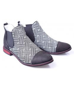 Členkové topánky black LAMELIA