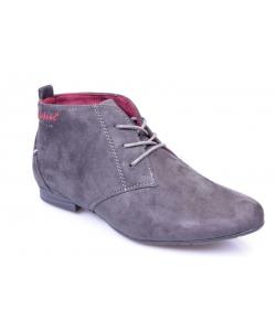 Členkové topánky grey DISTANC