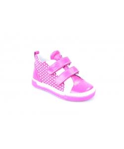 Členkové topánky fuxia RENBUT