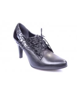 Členkové topánky black JAMI
