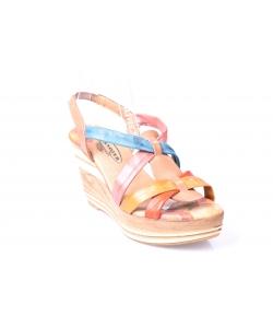 Sandálky farebné LANQIER