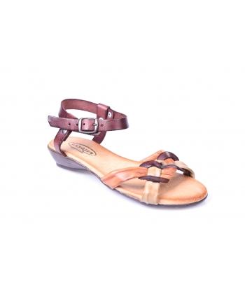 Sandálky hnedé LANQIER