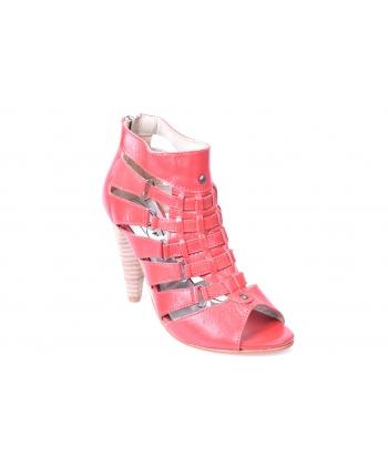 Sandálky červené LANQIER