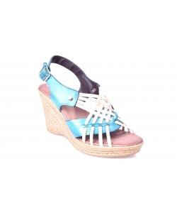 Sandálky modré LANQIER
