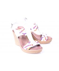 Sandálky biele LANQIER