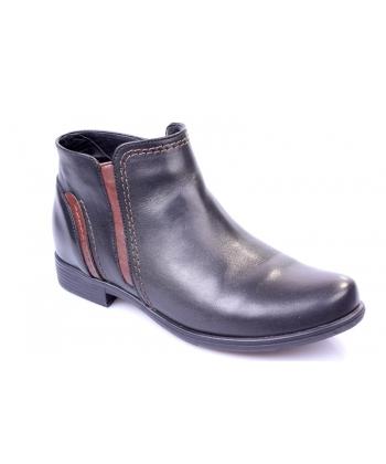 Výpredaj Členkové topánky black JAMI 96bd8d78afc