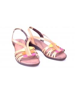 Sandálky svetlo hnedé