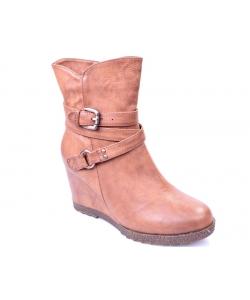 Členkové topánky brown EVENTO