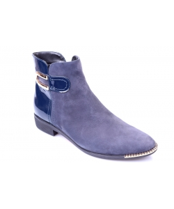 Členkové topánky blue JAMI