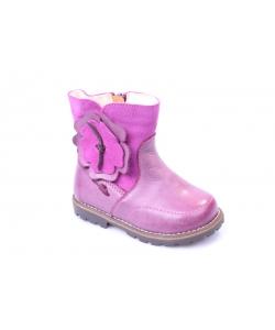 Detské čižmičky fialové RenBut