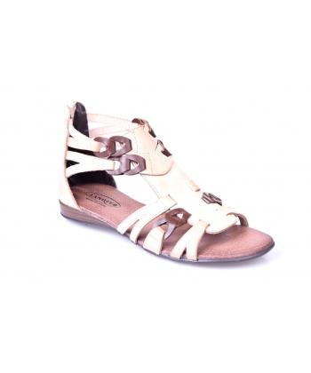 Sandálky khaki LANQIER