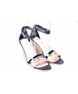 Sandálky čierne LANQIER