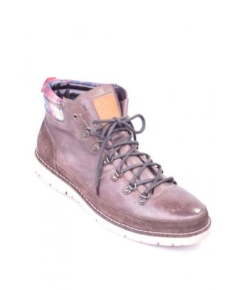 bfe37d7f175cd Pánske topánky tmavohnedé BRUNO BANANI