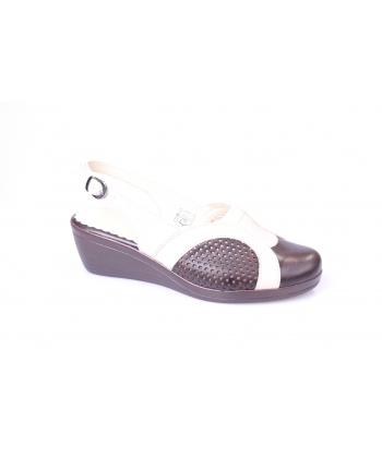 Sandálky hnedé REGINA