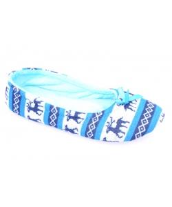 Dievčenské papuče modré AXIM