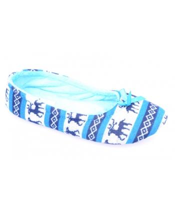 9f25f06e9324 Dievčenské papuče modré AXIM