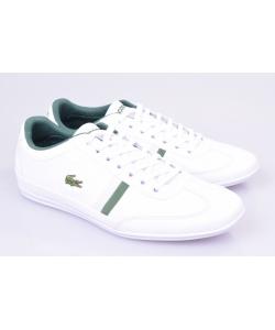 Pánske tenisky bielo- zelené LACOSTE