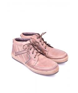 Pánske hnedé oteplené topánky ZUREK