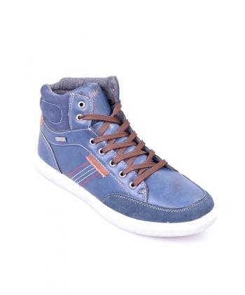 1acd7c932f19b Výpredaj Pánske topánky tmavomodré WISHOT
