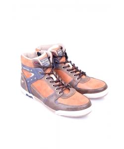 Pánske topánky hnedé MUSTANG
