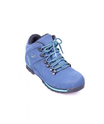 Mládežnícke trekingové topánky modré McARTHUR 5632639c3f8