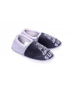 Čierno-sivé papučky WOJTYLKO