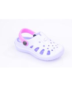 Fialové sandále AXIM