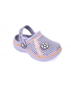 Sivé sandále HASBY