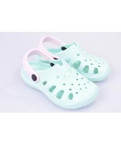 Svetlozelené sandále AXIM